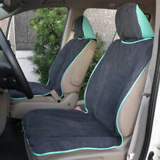 Pair Mint Seat Towel Auto Covers Protectors for Car SUV Truck Gym Yoga Outdoors