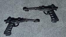Marvel Legends Black Widow Guns parts for custom 6 inch 1:12 figure