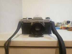 Asahi Pentax K1000 Film Camera Grey Body