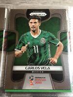 Carlos Vela Panini Prizm World Cup 2018 Mexico Football Soccer Card