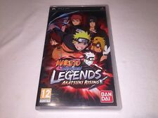 Naruto Shippuden Legends Akatsuki Rising (Playstation PSP) EU Import Complete Ex
