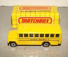 New Old Stock Lesney Matchbox MB 47 School Bus w/ Box