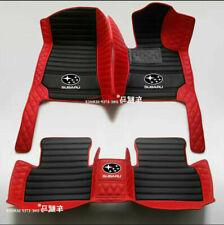 For Subaru-BRZ-Forester-Impreza-Outback-WRX-XV Car Floor Mats-Right-hand drive