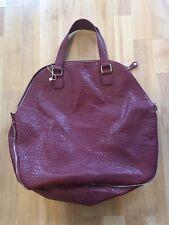 PIECES Damen Handtasche mit Henkel , Bordeaux ,