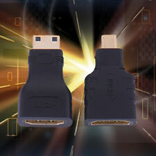 2x HDMI Female to Mini HDMI to Micro HDMI Adapter Convertor Connector HD TV  CH