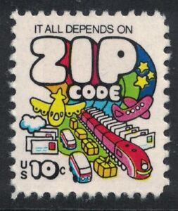 Scott 1511- It All Depends on Zip Code, Mail Transport- MNH 10c 1974- mint stamp