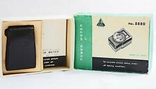 VINTAGE TOWER MODEL 97A LIGHT METER WITH BOX, CASE AND INSTRUCTIONS