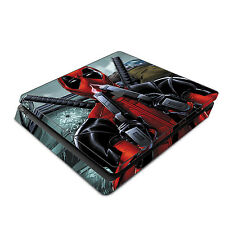 Skin Decal Cover Sticker for Sony PS4 Slim - Deadpool 2