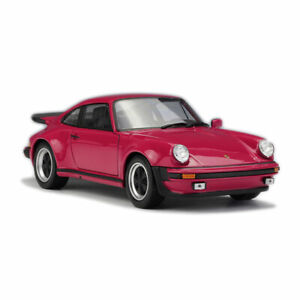 1/24 Porsche 911 Turbo 3.0 1974 Model Car Metal Diecast Vehicle Collection Red