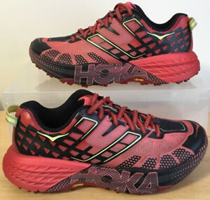 Hoka One One Speedgoat 2 Trail Running Shoes Trainers Women's Size UK 5 EU 38