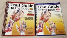 TRAIL GUIDE TO THE BODY Hands-on Guide Rev. 4th Ed ANDREW BIEL Text DVD Workbook