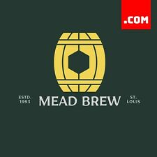 MeadBrew.com - 2 Word Domain - Short Domain Name - Catchy Name .COM Dynadot