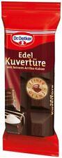 Dr. Oetker Edel Kuvertüre, 4er Pack (4 x 150 g)