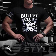 New Japan Pro Wrestling Bullet Club T-shirt Bone WWE Soldier NJPW UFC Kids Mens