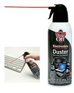 Falcon Dust Off 10oz Electronic Compressed Canned Air Duster - Gas Duster Remove