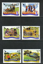 New Zealand 2005 Service Organizations--Attractive Topical (1997-2002) MNH