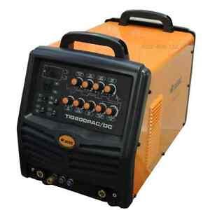 Jasic Pro TIG 200P AC/DC Analog (JT-200A) 5 Year Warranty inc Reg, Leads etc