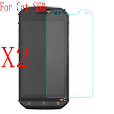 2x Genuine 9H Tempered Glass Screen Protector Film Guard Protection for Cat S60
