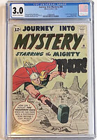 Journey Into Mystery #86 CGC 3.0