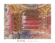 The Opera, Paris, early 1930's by Raoul Dufy Art Print Modern Poster 28x22