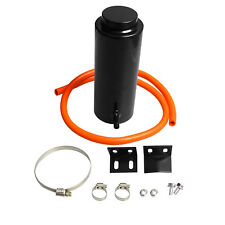 800ml Universal Radiator Coolant Aluminum Catch Tank Overflow Reservoir Black