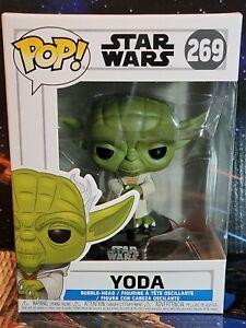 Funko PoP! #269 Star Wars Clone Wars Yoda Bobblehead Figure. Nice Brand New Box