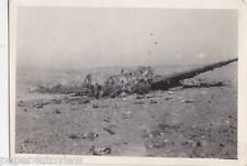 OLD PHOTO WW2 MILITARY PLANE AEROPLANE CRASH DISASTER WAR SALLUM PASS 1940S