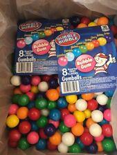 """5LB DUBBLE BUBBLE GUM BALLS -1"""" ROUND VENDING GUMBALLS"""