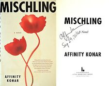 Affinity Konar~SIGNED IN PERSON & DATED~Mischling~1st/1st + Photos! Debut Novel!