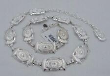 New Tony Lama CLASSIC CONCHO Chain Belt   Size M   NWT   Q5022