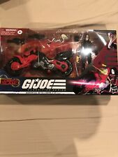 G.I. Joe Classified Series Baroness w COIL Figure and Vehicle IN HAND