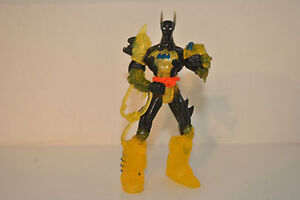 BATMAN FUTURE DC COMICS 1999 HASBRO TRANSLUCENT YELLOW  BLACK CODEBUSTER
