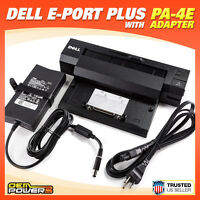 Dell Docking Station E-Port Plus Replicator PR02X E6520 E6530 E6540 M2400 +PA-4E