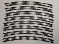 ARNOLD 1530 gebogenes Gleis R3 30° braun 8 Stück (33274)