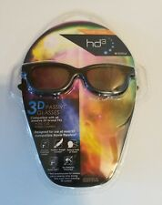 3D Glasses Passive HD3 Technology Sport Style 904 Vizio LG JVC Toshiba New