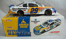 AUTOGRAPHED SIGNED 2001 KEVIN HARVICK AMERICA ONLINE 1/24 DIECAST CAR