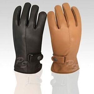Prime Men's Fashion Driving Gloves Slim Fit Chauffeur Classic Dress Gloves 9900