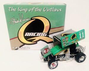 1/25 R&R 2007 STEVE KINSER Q RACING #11 DIECAST SPRINT CAR.