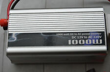 POWER Inverter 1000W 12V DC-220V AC Brand New  mmoetwil@hotmail.com +32475277772