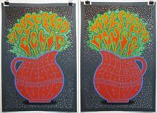 Chuck Sperry Widespread Panic Cedar Rapid Ames Iowa Forest Green Poster VAR SET