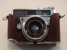 Vintage Kodak Retina Compus 35mm Camera with Case No Strap 45mm Lens Working