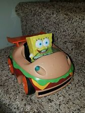 SpongeBob SquarePants Krabby Patty Remote Control Car NKOK j85
