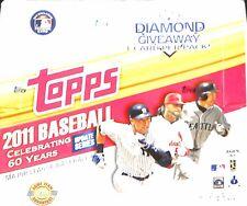 2011 Topps Baseball Update Jumbo Sealed Hobby Box