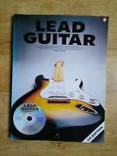 Lead Guitar by Harvey Vinson, CD edition. A guide to basic styles of rock guitar