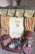 Farm House 3D Photo Frame Handcrafted Exquisite Detail Lounge Room EC