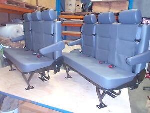 Combo Tourer Rear Van 3 Seat with Inbuilt Seat Belts Headrests Armrests