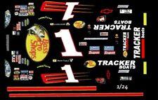 #1 Martin Truex jr Bass Pro Shops Chevy 1/24th - 1/25th   Waterslide Decals