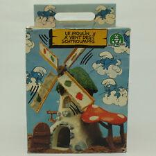 PUFFO PUFFI SMURF SMURFS 4.0020 40020 Old Windmills Mulino Vecchio 2A + BOX 2  a