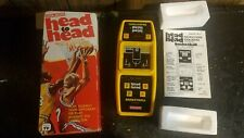 vintage Coleco Head to Head basketball electronic with box works 1979