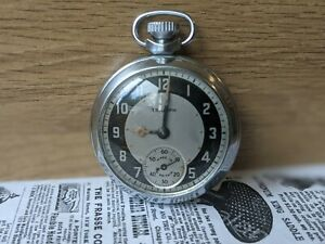 Gents Vintage Triumph Subsidiary Bullseye Pocket Watch - Working
